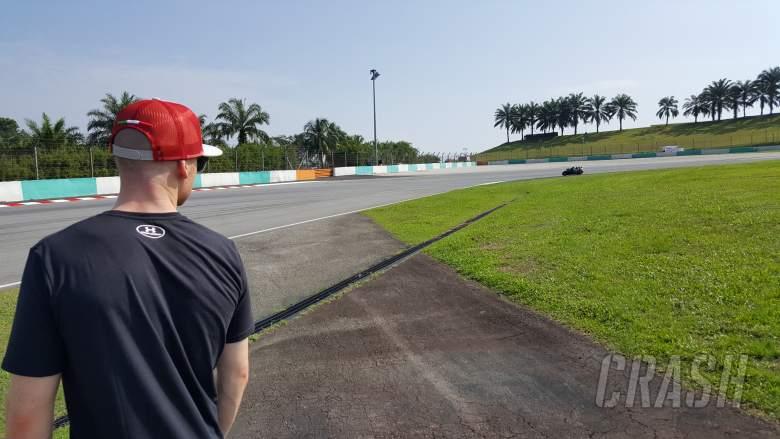MotoGP: Trackside at Sepang with Bradley Smith