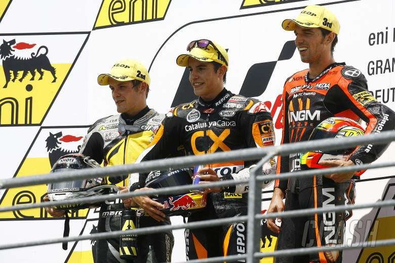 Marquez wins 2012 Sachsenring Moto2 race