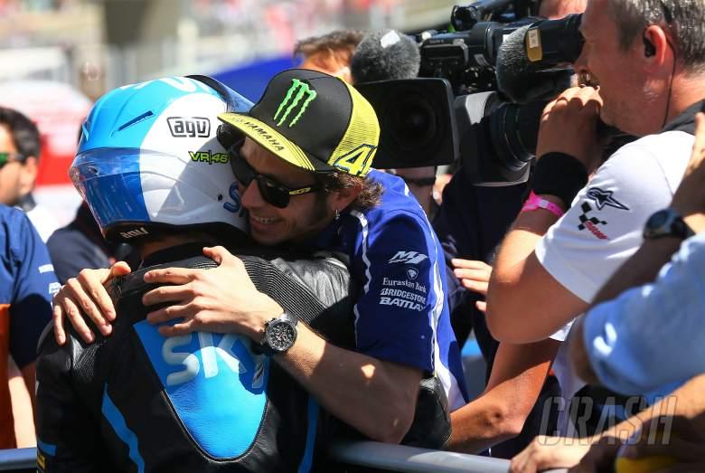 MotoGP: Rossi: I hope Fenati returns