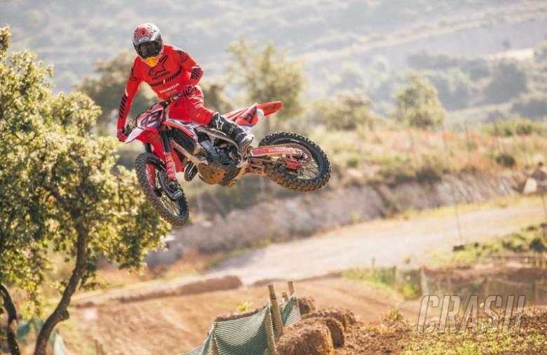 Marc Marquez motocross training after lockdown