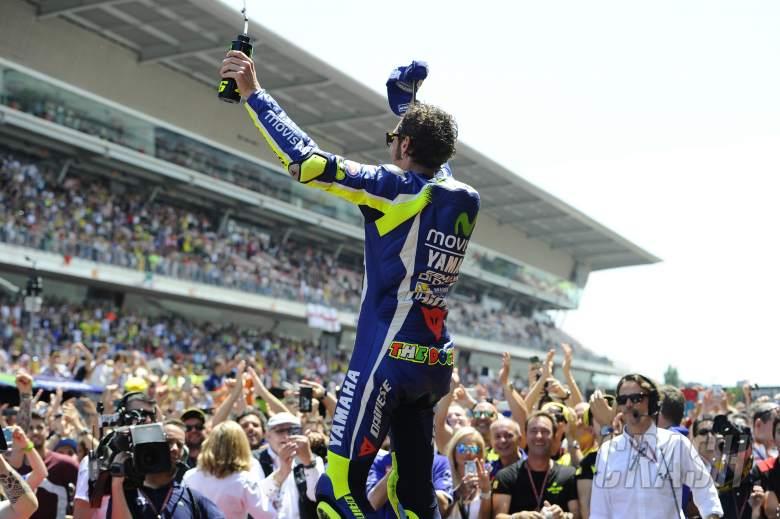Valentino Rossi, Yamaha, MotoGP, Catalan MotoGP, 2016,