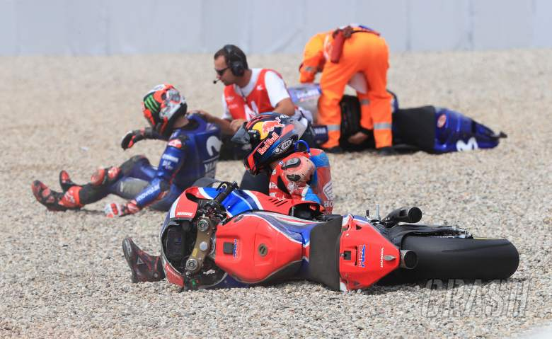 MotoGP: Miller witnessed Turn 3 carnage