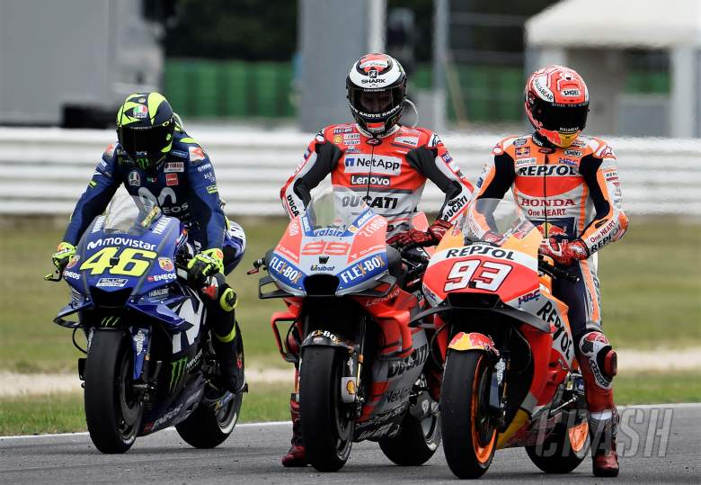 MotoGP: Lorenzo: Team-mate to Marquez, like team-mate to Rossi