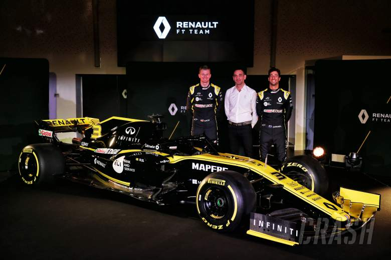 F1: Renault not setting fixed 'x or y' targets for F1 2019