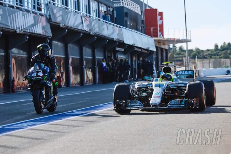 Rossi 'felt like real F1 driver' during Hamilton swap