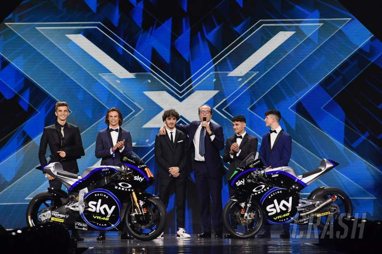 MotoGP: VR46 unveil 2019 livery on X-Factor