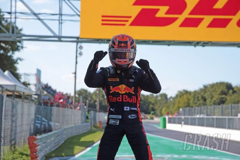 Yuki Tsunoda (JAP) Jenzer Motorsport race winner 08.09.2019. Formula 3 Championship, Rd 7, Monza, Italy,