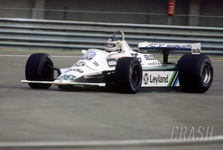 Carlos Reutemann (ARG) Williams FW07 Ford Cosworth Albilab Williams Racing Team