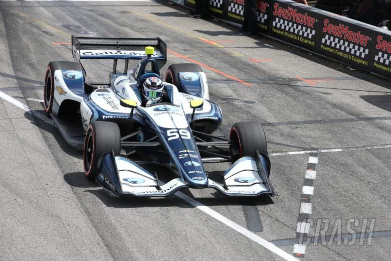 Chilton confirmed for IndyCar return in 2019