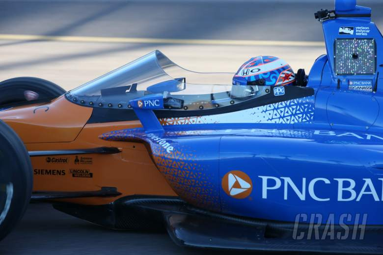 IndyCar: Dixon pleased with first IndyCar windscreen test