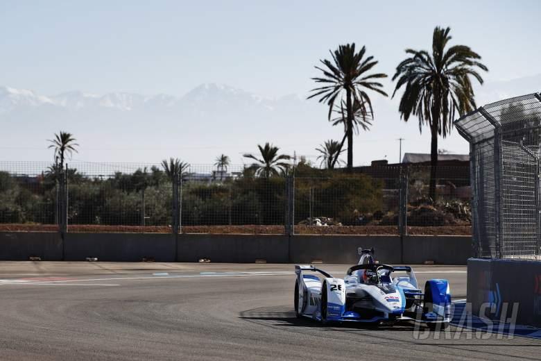 Da Costa hit with Marrakesh Formula E grid drop