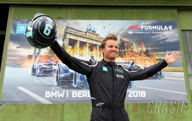 Formula E: Rosberg makes 'special' single-seater comeback in FE demo