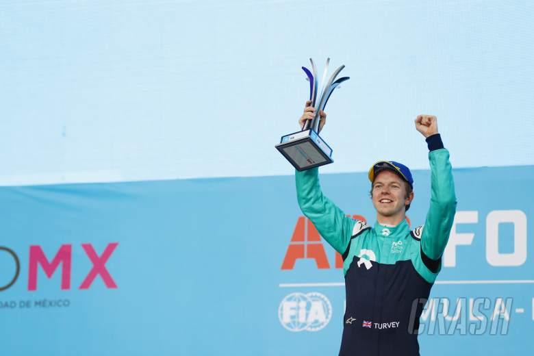 Turvey praises NIO's progress after maiden Formula E podium