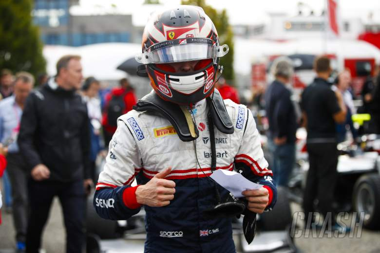 Ferrari F1 junior Ilott takes maiden F2 pole in Italy