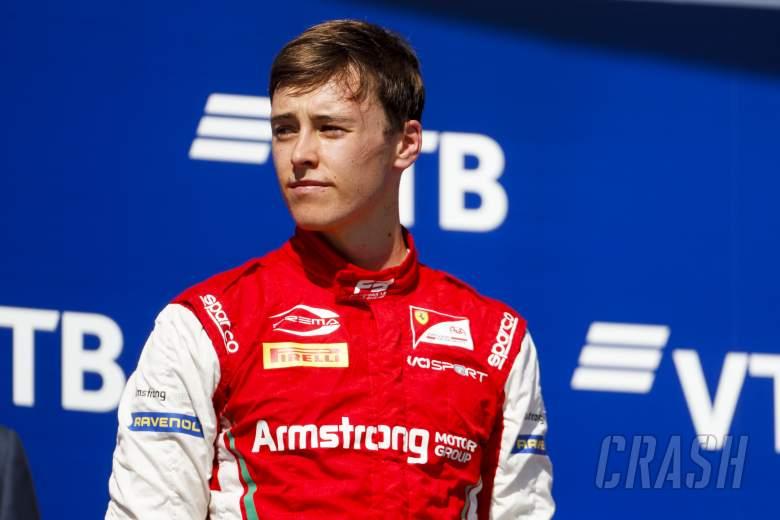 Ferrari juniors Armstrong, Ilott, and Alesi set in F2 seats