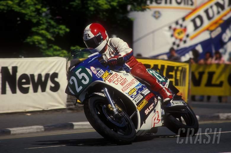 Multiple TT winner Tony Rutter has died
