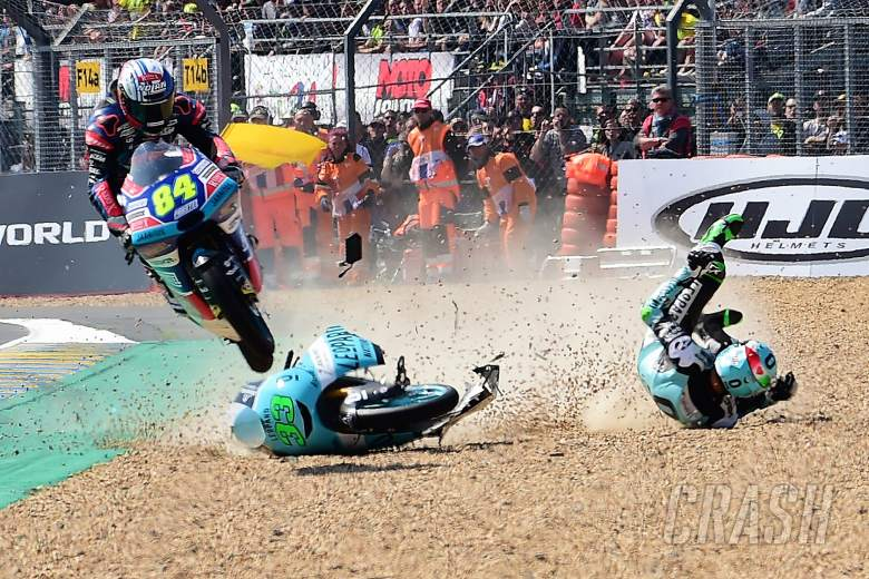 MotoGP: WATCH: Kornfeil's Great Escape!