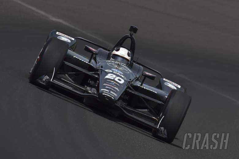IndyCar: Carpenter charges to Indianapolis 500 pole