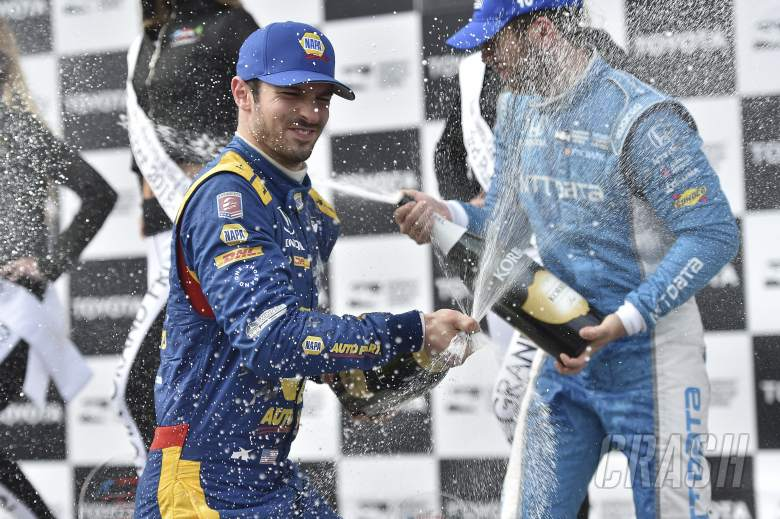 IndyCar: Rossi dominates en route to Long Beach IndyCar win