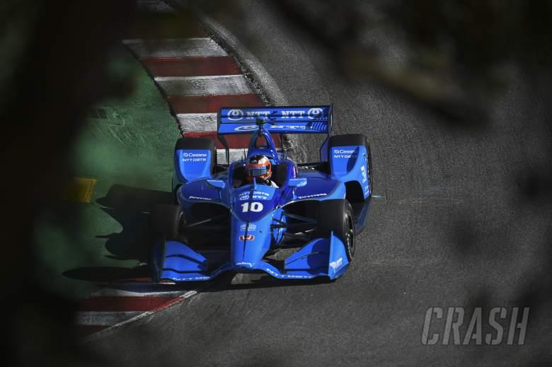 Rosenqvist pips Newgarden in final Laguna Seca practice