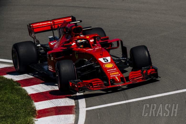 F1: Vettel charges to Canada F1 pole as Hamilton struggles