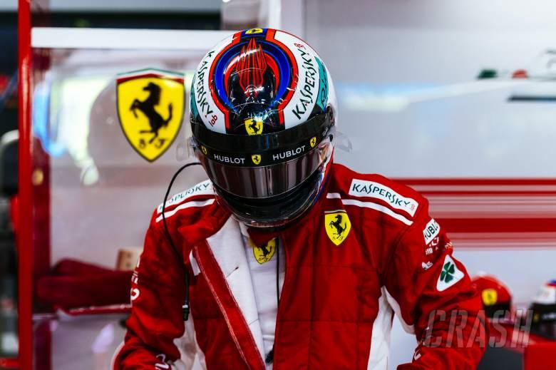 F1: Raikkonen fastest in Singapore FP2 as Vettel hits wall