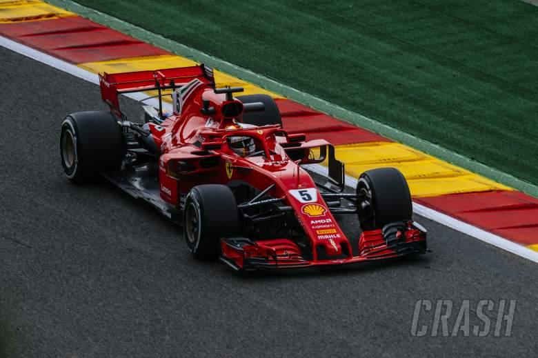 F1: Vettel takes dominant Belgian GP win after start drama