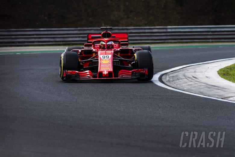 F1: Giovinazzi notes 'dramatic' improvement in Ferrari car