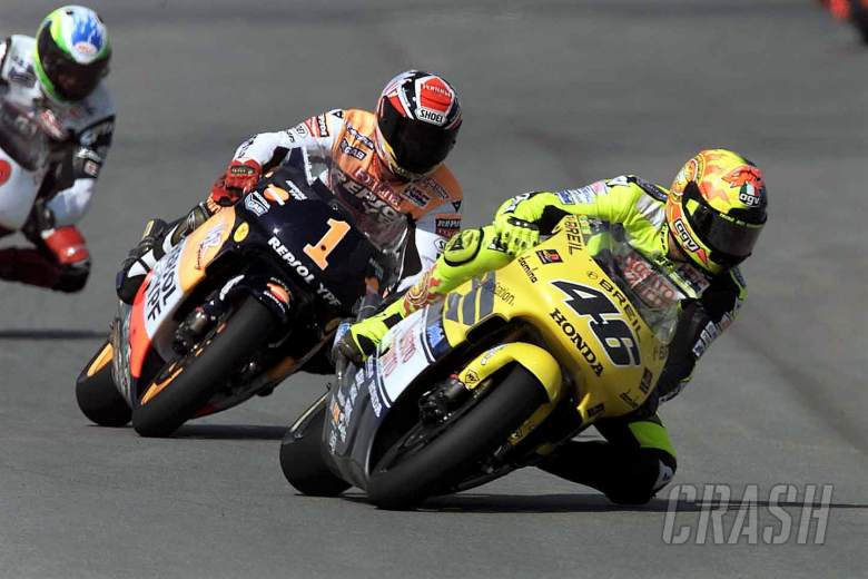 MotoGP: Rossi: I thought 'why are they so slow?'… and crashed!