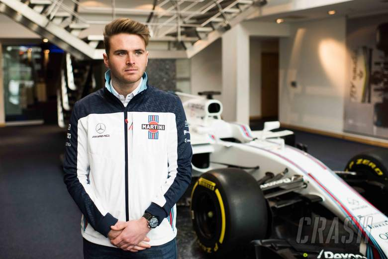 F1: Rowland named Williams F1 young driver for 2018