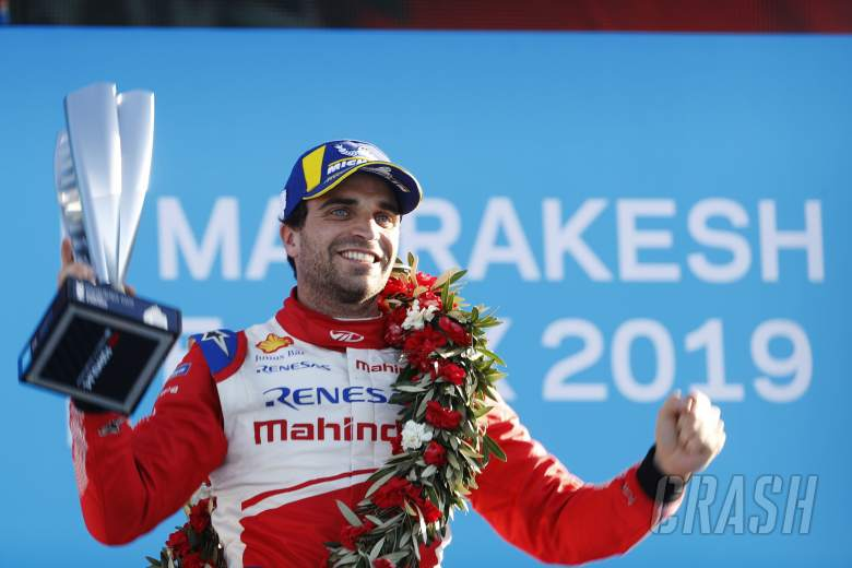 "Formula E: Mahindra's d'Ambrosio: 'Real' FE victory feels ""amazing"""