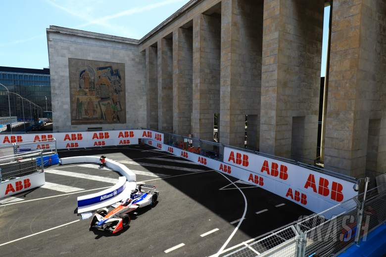 Formula E: Rosenqvist fastest in Rome Formula E practice