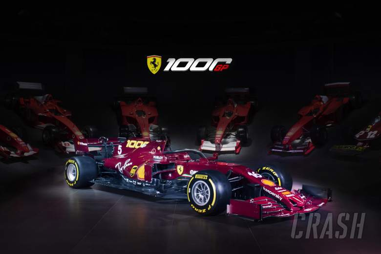 Ferrari to race in retro livery for 1000th F1 race