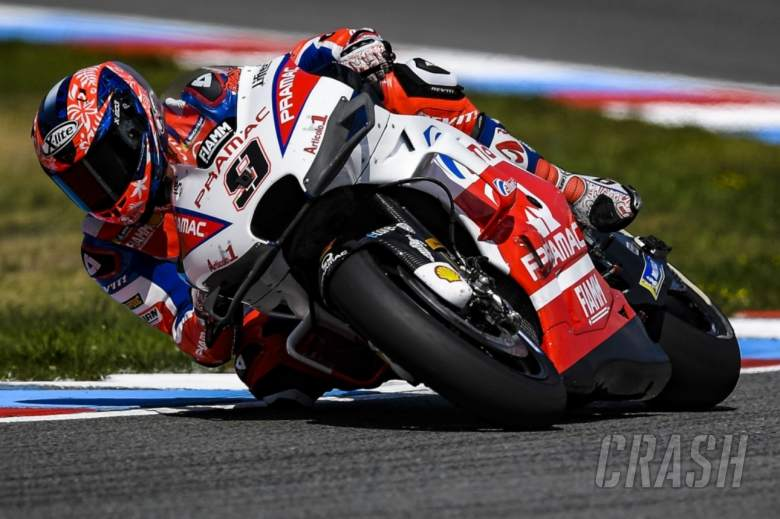 MotoGP: Petrucci gives verdict on new Ducati fairing