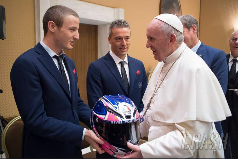 MotoGP: 'I feel like an Australian diplomat!' - Miller meets the Pope