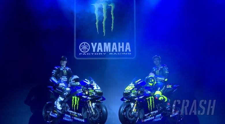MotoGP: FIRST LOOK: Rossi, Vinales unveil Monster Yamaha colours