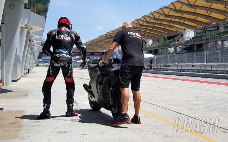 MotoGP: Aprilia 'super happy' with Smith, five wild-cards