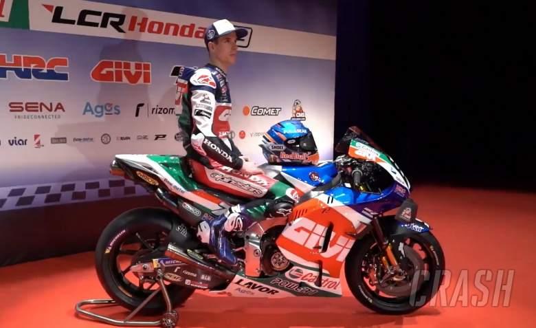 FIRST LOOK: Alex Marquez in LCR Honda MotoGP colours