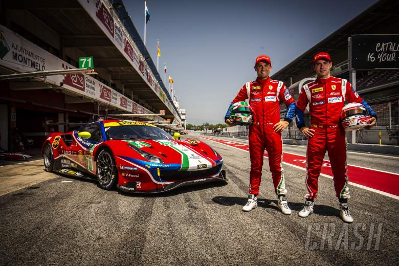 Molina replaces Bird in AF Corse's WEC line-up