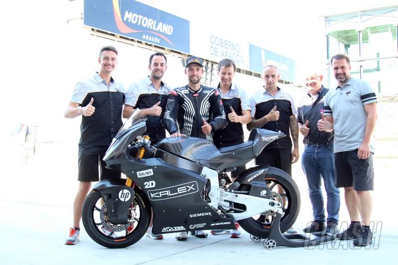 MotoGP: Moto2: Folger returns for Kalex-Triumph test