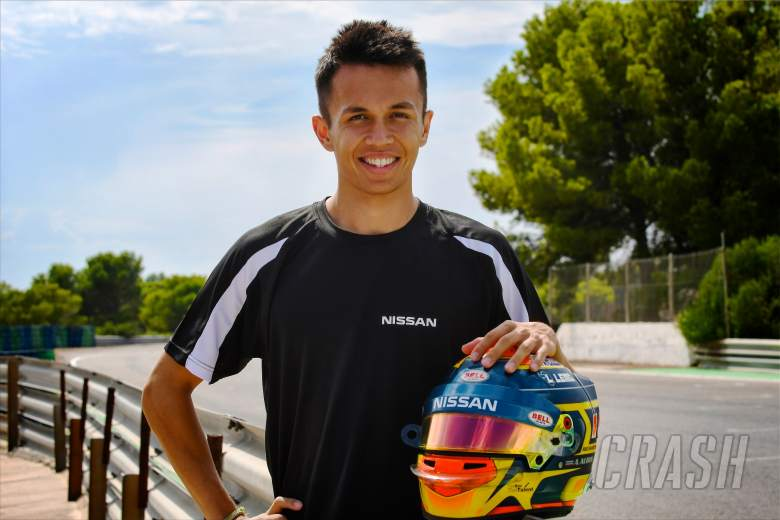 Formula E: Alexander Albon, Nissan e.dams,
