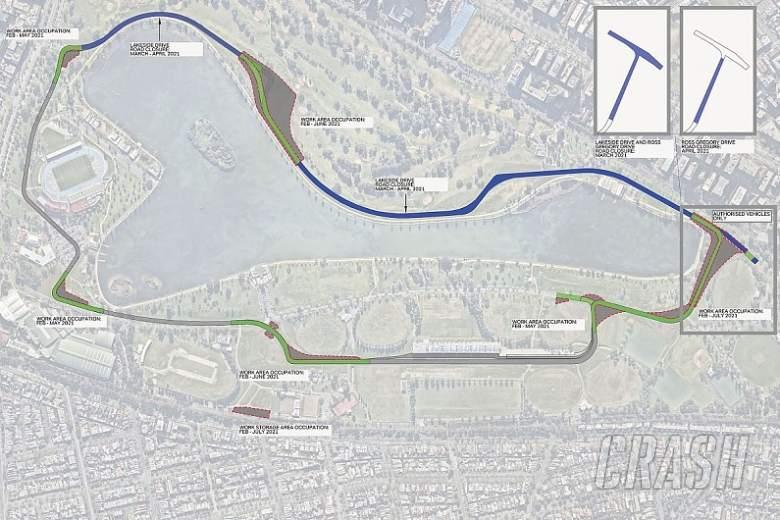 Australian GP F1 track to change layout in bid to boost overtaking