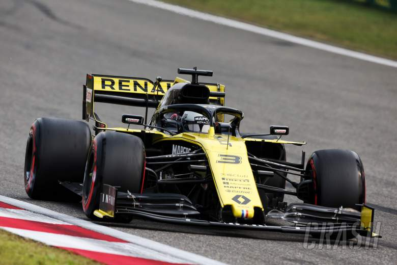 4efcd8a3 F1. Luke Smith. 12 Apr 2019. Ricciardo making progress in China with the Renault  R.S.19 car after early-season struggles.