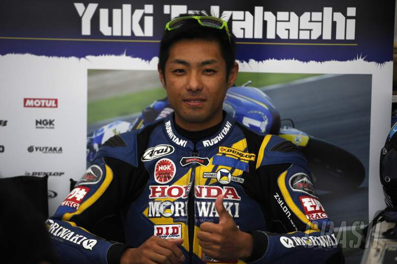 Yuki Takahashi, Moriwaki Althea Honda,