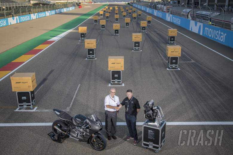 MotoGP: Triumph hands over 2019 Moto2 engines at Aragon