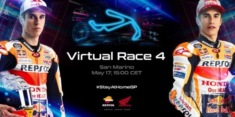 Marquez brothers eye double podium as Virtual MotoGP heads to Misano