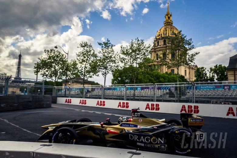 Formula E: Lotterer gets 10-place grid penalty for late Paris FE collision
