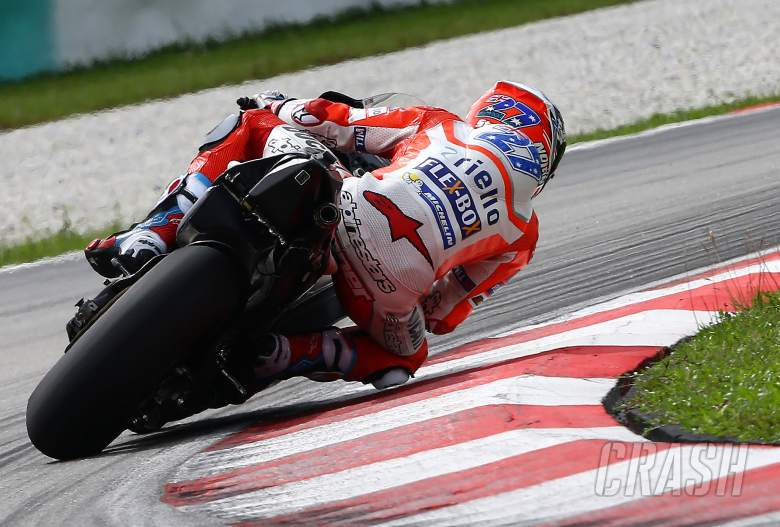 MotoGP Casey Stoner On Track At Valencia