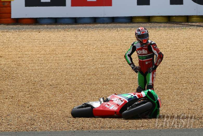 MotoGP: Falls per manufacturer: Pushing hard or unpredictable?