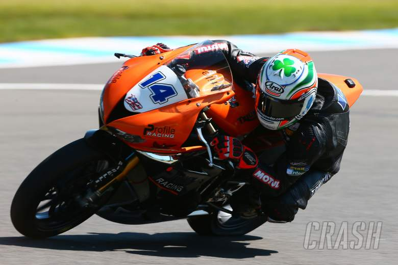 World Supersport: Jack Kennedy, Profile Racing Triumph,
